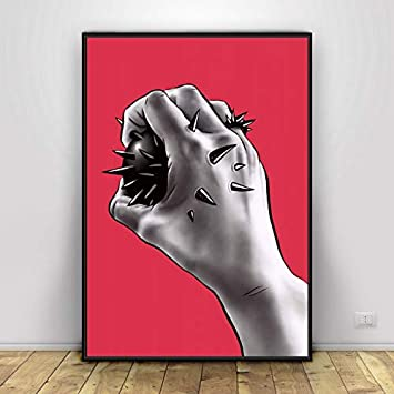 Body Parts Art Canvas Painting Poster Picture Simple Bedroom Living Room Decoration 50x70cm Amazon Co Uk Diy Tools