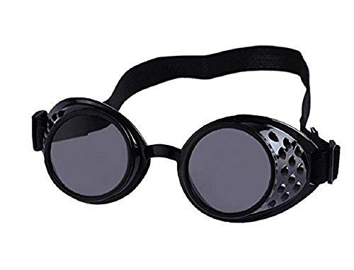 nouvelles gothique steampunk Noir gothique soudure de Lunettes vintage Victorien victorien soleil gogless AvSxn1U