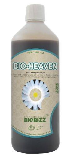 1 Liter - Bio-Heaven - Energy Enhancer - Hydroponic Nutrient Solution - 1-0.1-0.1 NPK Ratio - BioBizz BBBH1L