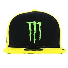 Valentino Rossi VR46 Moto GP Monster Energy Sponsor Flat Peak Cap Official 2017
