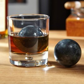 Perfect Sphere Whiskey Rocks, Set of -