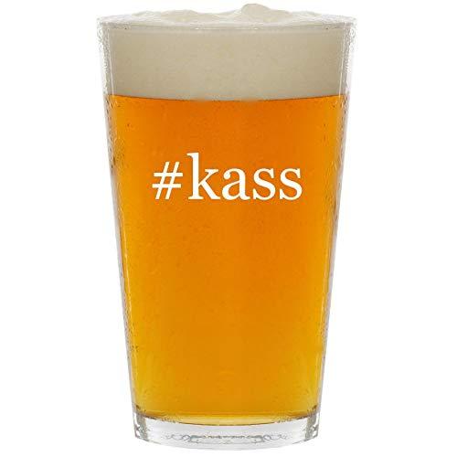 #kass - Glass Hashtag 16oz Beer Pint ()