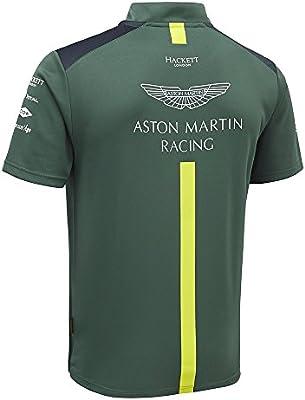 Aston Martin - 2018 Racing Team - Polo para hombre, con cremallera ...