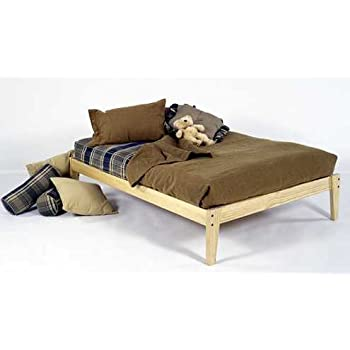 Amazon.com: Queen Size - Solid Wood Platform Bed Frame - Clean ...