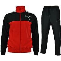 cc501107599b Puma Fun Graphic Woven Suit open Mens Sports Suit Jogging Regular Fit Red
