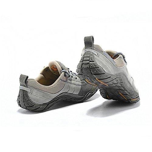 Chaussures de randonnée en cuir pour homme été et automne chaussures de sport en plein air pour trekking camping escalade durables et antidérapants