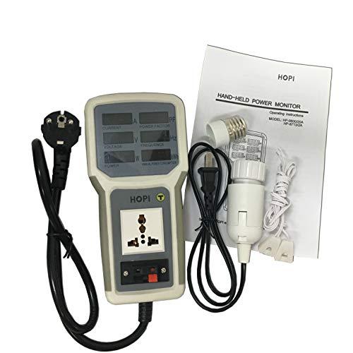 HP-9800 Handheld Power Monitor Energy Meter Analyzer HP9800 20A LED Saving Lamps Tester EU/AU/UK/US Plug Socket Power Meter