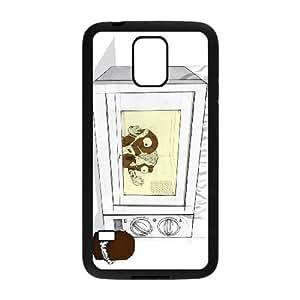 chocolate marshmallow Samsung Galaxy S5 Cell Phone Case Black 53Go-122807