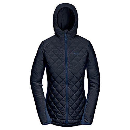 Tundra Jacket Insulated (Jack Wolfskin Women's ICY Tundra Jacket, Night Blue, XX-Large)