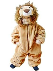 F57 Tamaño 9-12 meses traje León para bebés y niños pequeños, cómodo de llevar en la ropa normal