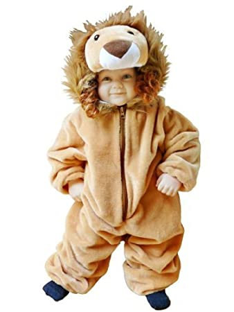 Löwen Kostüm F57 Gr 74 80 Für Klein Kinder Babies Löwe Kostüme