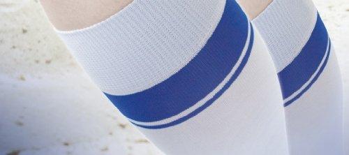 Bauerfeind VenoTrain Sport Compression Socks (White, Medium Long) by Bauerfeind
