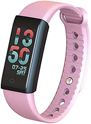 BT4 0 Water-Proof Smart Wrist Band Colorful Touch Screen