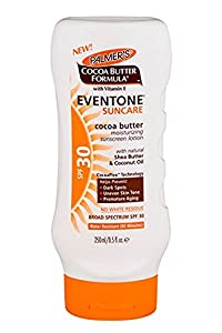 Palmer's Cocoa Butter Formula With Vitamin E, Eventone Suncare Sunscreen Lotion, SPF 30, 8.5 Fl Oz
