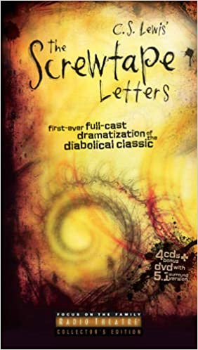 screwtape letters audio book the
