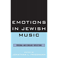 Emotions in Jewish Music: Personal and Scholarly Reflections book cover