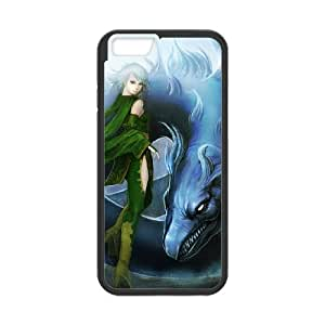 iPhone 6 Plus 5.5 Inch Case Covers Black Rydia Final Fantasy H7NM
