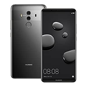 Huawei Mate 10 Pro (BLA-L29) 6GB/128GB 6.0-inches LTE Dual SIM Factory Unlocked - International Stock No Warranty (Titanium Gray)