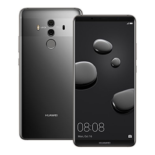 Huawei Mate 10 Pro (BLA-L29) 6GB / 128GB 6.0-inches LTE Dual SIM Factory Unlocked – International Stock No Warranty (Titanium Gray)