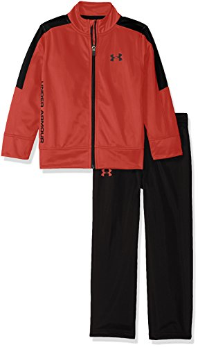Under Armour Toddler Boys' Zip Jacket and Pant Set, Red, 4T