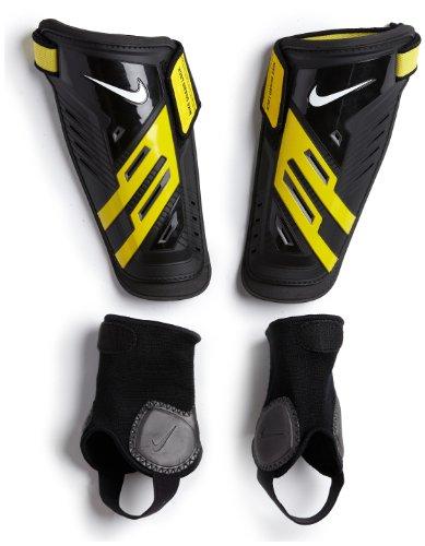 Nike Protegga Shield Shin Guards - Black/Yellow/White X- Large (Protegga Shield)