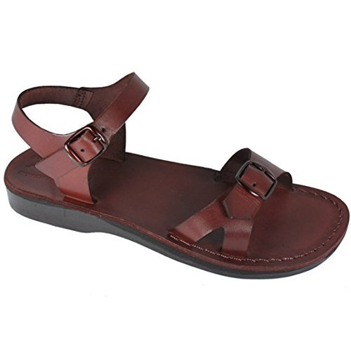 fe20eff84b6 Amazon.com  Billa Leather Sandals For Men   Women - Handmade Unisex ...