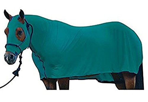 Sleazy Sleepwear for Horses Large Solid Full Body Teal