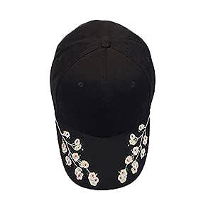 FiedFikt - Gorra de béisbol para Mujer, Bordada, de algodón, para ...