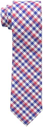 Nautica Men's Spring Nautical Check Tie