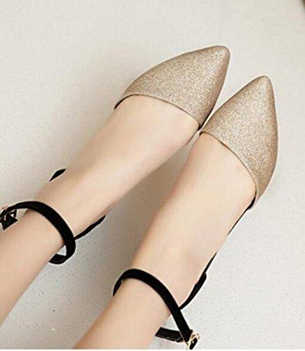 Easemax Scarpe Da Donna A Punta Tacco Blazer Con Cinturino Alla Caviglia Con Cinturino Alla Caviglia Con Cinturino Alla Caviglia