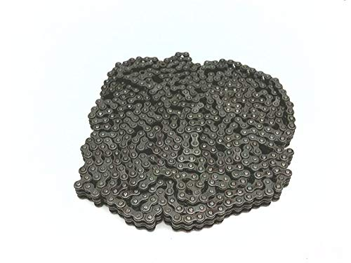 - DIAMOND Chain XT-5189-010 Roller Chain, 25/1/4 in Pitch, Riveted, 2 Strand, Steel, 10FT