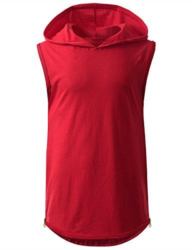 URBANCREWS Hipster Longline Pullover Sleeve