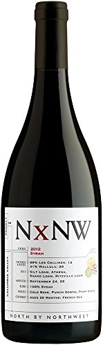 2012 North By Northwest, Columbia Valley Syrah