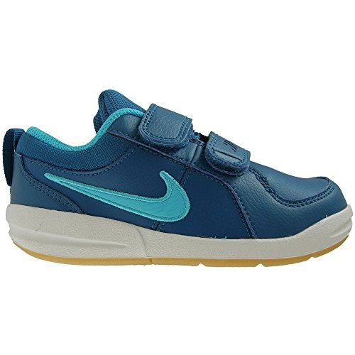 Nike Pico 4 TDV - 454501410 - Color White-Navy Blue-Blue - Size: 10.0 by NIKE