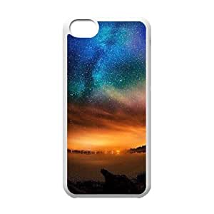 Unique Designs AXL370534 New Cover Case For Iphone 5C Phone Case w/ Aurora and Star