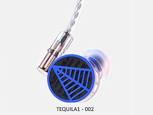 FidgetFidget in-Ear Earphone IEMS TFZ Tequila 1 HiFi Audiophile 2-pin 0.78mm Detachable 002 ()
