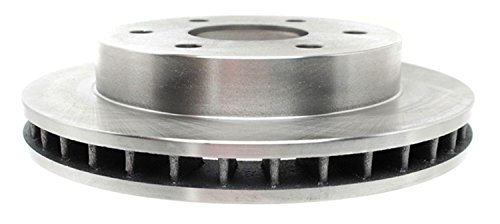 ACDelco 18A258A Advantage Non-Coated Front Disc Brake Rotor