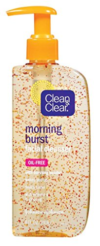 Clean & Clear Morning Burst Facial Cleanser with Bursting Beads (8 fl oz)