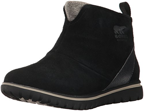 Sorel Women's Cozy Short Snow Boot, Black, 8 B US by SOREL