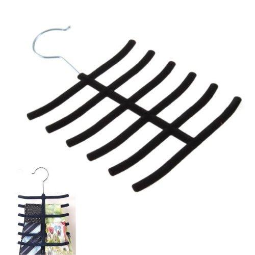 DierCosy Nonslip Hanger Belt Necktie Neck Ties Socks Scarves Rack Closet Holder