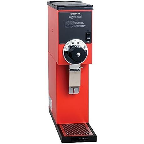 BUNN 22102 000100000001 G2 Bulk Coffee Grinder Red