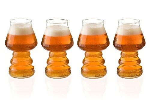 16oz Aroma Beer Glass, IPA Beer Glass, Set of 4 - Enhance th