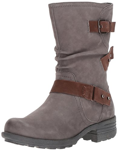 Rockport Cobb Hill Collection Brunswick Boot Damesboot Donker Grijs Nubuck