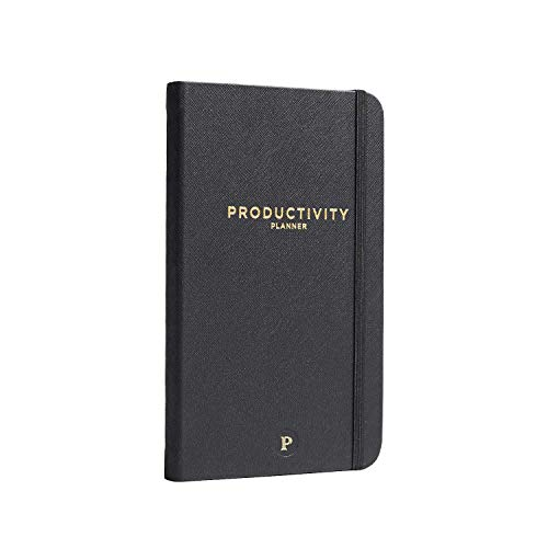 "Productivity Planner - Daily Planner - Non Dated 5 x 8"" - Accomplish Your 2019 Goals"