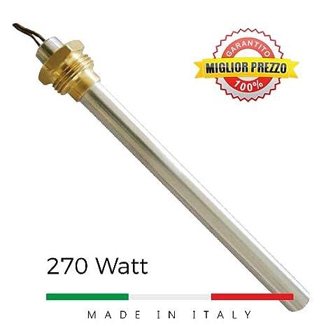 """De encendido estufas de pellets con conexión 3/8 """"270 W ht62647 piazzetta"""