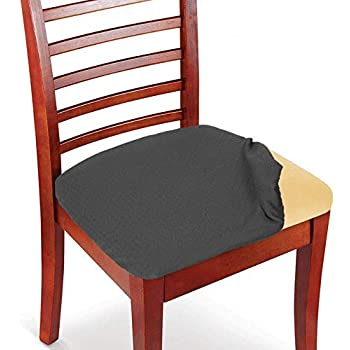 Amazon Com Womaco Stretch Jacquard Dining Room Chair Seat