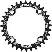 zeker HemeraPhit Mountain Bike Single Chainring Aluminum Narrow Wide Chainwheel BCD 104mm 32T 34T 36T 38T Repa