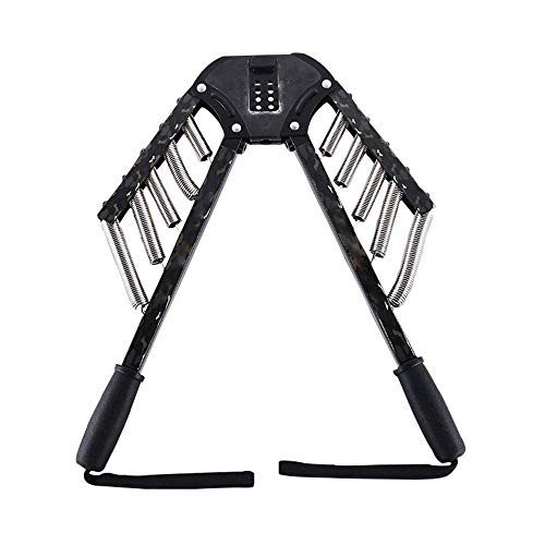 Yaegoo Arm Exercises 4 In 1 Power Twister Chest Expander Adjustable Strength Trainer Pull Exerciser Adjustable Resistance From 30Kgs To 60Kgs by Yaegoo