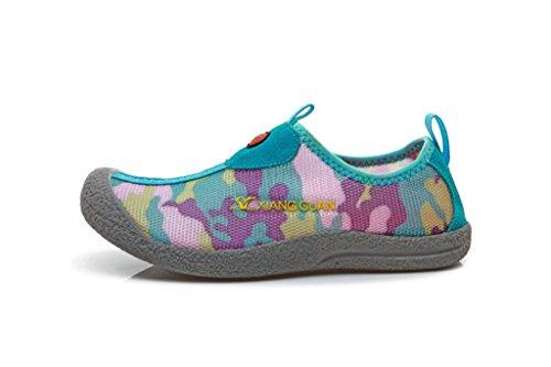 安全性インサート辞書XIANGGUAN ネットの表面の恋人たちの靴、ウォーキングシューズ、靴の砂のビーチ ウェーディングシューズ,パープル,23