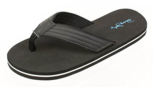 to Men's Casual Sandals Size Panama Charcoal Jack 13 Flop Flip Beach 8 fAxgOBq4wO